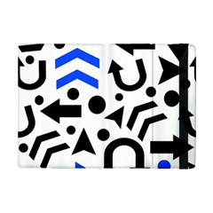 Blue Right Direction Ipad Mini 2 Flip Cases by Valentinaart