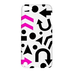 Magenta Right Direction Apple Ipod Touch 5 Hardshell Case by Valentinaart