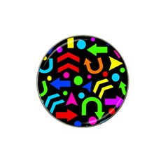 Right Direction   Colorful Hat Clip Ball Marker (4 Pack) by Valentinaart