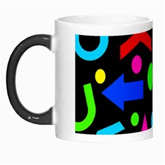 Right Direction   Colorful Morph Mugs by Valentinaart