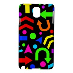 Right Direction   Colorful Samsung Galaxy Note 3 N9005 Hardshell Case by Valentinaart