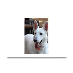 White German Shepherd Plate Mats by TailWags
