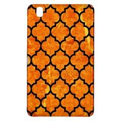 Tile1 Black Marble & Orange Marble (r) Samsung Galaxy Tab Pro 8 4 Hardshell Case by trendistuff