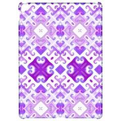 Soft Lavender Swirling Apple iPad Pro 12.9   Hardshell Case