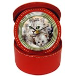 Kitten & Mom Jewelry Case Clock