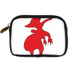 Grotesque Red Creature  Digital Camera Cases by dflcprints