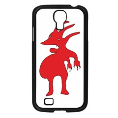 Grotesque Red Creature  Samsung Galaxy S4 I9500/ I9505 Case (black) by dflcprints