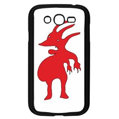Grotesque Red Creature  Samsung Galaxy Grand Duos I9082 Case (black) by dflcprints