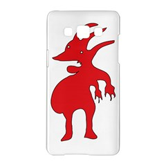Grotesque Red Creature  Samsung Galaxy A5 Hardshell Case  by dflcprints