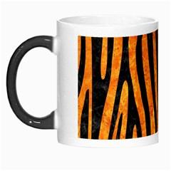 Skin4 Black Marble & Orange Marble Morph Mug by trendistuff