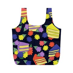 Cake Lover Full Print Recycle Bags (m)  by BubbSnugg