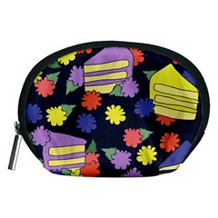 Cake Lover Accessory Pouches (medium)  by BubbSnugg