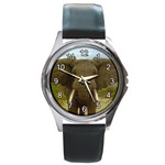 ELEPHANT EARS SPREAD ROUND METAL WATCH