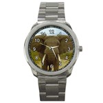 elephant_1 Sport Metal Watch