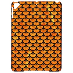 Scales3 Black Marble & Orange Marble (r) Apple Ipad Pro 9 7   Hardshell Case by trendistuff