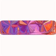 Candy Abstract Pink, Purple, Orange Large Bar Mats