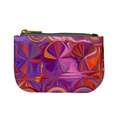 Candy Abstract Pink, Purple, Orange Mini Coin Purses by digitaldivadesigns