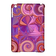 Candy Abstract Pink, Purple, Orange Apple Ipad Mini Hardshell Case (compatible With Smart Cover) by theunrulyartist