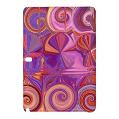 Candy Abstract Pink, Purple, Orange Samsung Galaxy Tab Pro 12 2 Hardshell Case by theunrulyartist