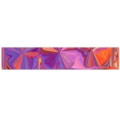 Candy Abstract Pink, Purple, Orange Flano Scarf (large) by theunrulyartist