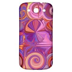 Candy Abstract Pink, Purple, Orange Samsung Galaxy S3 S Iii Classic Hardshell Back Case by digitaldivadesigns