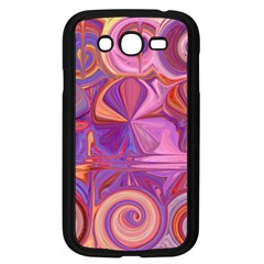 Candy Abstract Pink, Purple, Orange Samsung Galaxy Grand Duos I9082 Case (black) by theunrulyartist