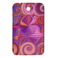 Candy Abstract Pink, Purple, Orange Samsung Galaxy Tab 3 (7 ) P3200 Hardshell Case  by theunrulyartist