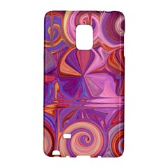Candy Abstract Pink, Purple, Orange Galaxy Note Edge by theunrulyartist