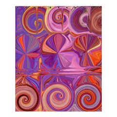 Candy Abstract Pink, Purple, Orange Shower Curtain 60  X 72  (medium)  by theunrulyartist