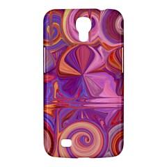 Candy Abstract Pink, Purple, Orange Samsung Galaxy Mega 6 3  I9200 Hardshell Case by theunrulyartist