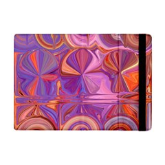 Candy Abstract Pink, Purple, Orange Ipad Mini 2 Flip Cases by digitaldivadesigns