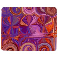 Candy Abstract Pink, Purple, Orange Jigsaw Puzzle Photo Stand (rectangular) by theunrulyartist