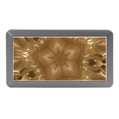 Elegant Gold Brown Kaleidoscope Star Memory Card Reader (mini) by yoursparklingshop
