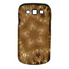 Elegant Gold Brown Kaleidoscope Star Samsung Galaxy S Iii Classic Hardshell Case (pc+silicone) by yoursparklingshop