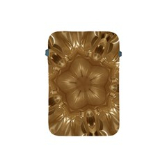 Elegant Gold Brown Kaleidoscope Star Apple Ipad Mini Protective Soft Cases by yoursparklingshop