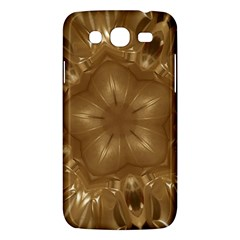 Elegant Gold Brown Kaleidoscope Star Samsung Galaxy Mega 5 8 I9152 Hardshell Case  by yoursparklingshop