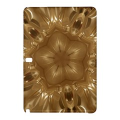 Elegant Gold Brown Kaleidoscope Star Samsung Galaxy Tab Pro 10 1 Hardshell Case by yoursparklingshop