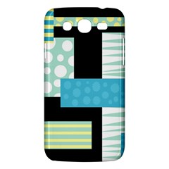 Blue Collage Samsung Galaxy Mega 5 8 I9152 Hardshell Case  by Valentinaart