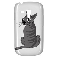 Gray Cat Galaxy S3 Mini by Valentinaart