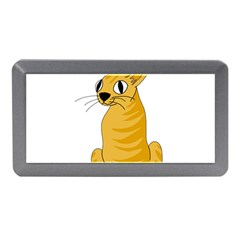 Yellow Cat Memory Card Reader (mini) by Valentinaart