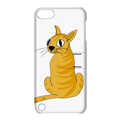 Yellow Cat Apple Ipod Touch 5 Hardshell Case With Stand by Valentinaart