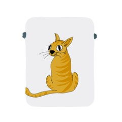 Yellow Cat Apple Ipad 2/3/4 Protective Soft Cases by Valentinaart