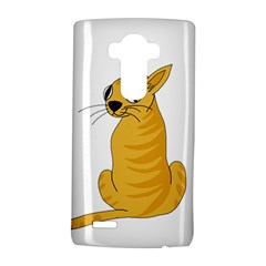 Yellow Cat Lg G4 Hardshell Case by Valentinaart