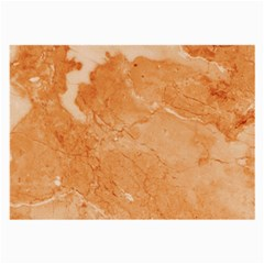 Rose Gold Marble Stone Print Large Glasses Cloth by Dushan