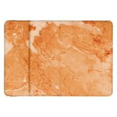 Rose Gold Marble Stone Print Samsung Galaxy Tab 8 9  P7300 Flip Case by Dushan