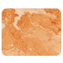 Rose Gold Marble Stone Print Double Sided Flano Blanket (medium)  by Dushan