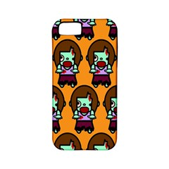 Zombie Woman Fill Orange Apple Iphone 5 Classic Hardshell Case (pc+silicone) by AnjaniArt