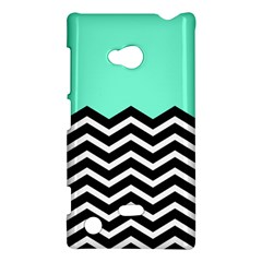 Blue Chevron Nokia Lumia 720 by AnjaniArt