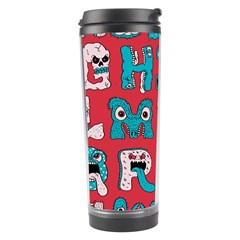 Alpha Monsters Travel Tumbler by AnjaniArt