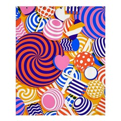 Canddy Color Shower Curtain 60  X 72  (medium)  by AnjaniArt